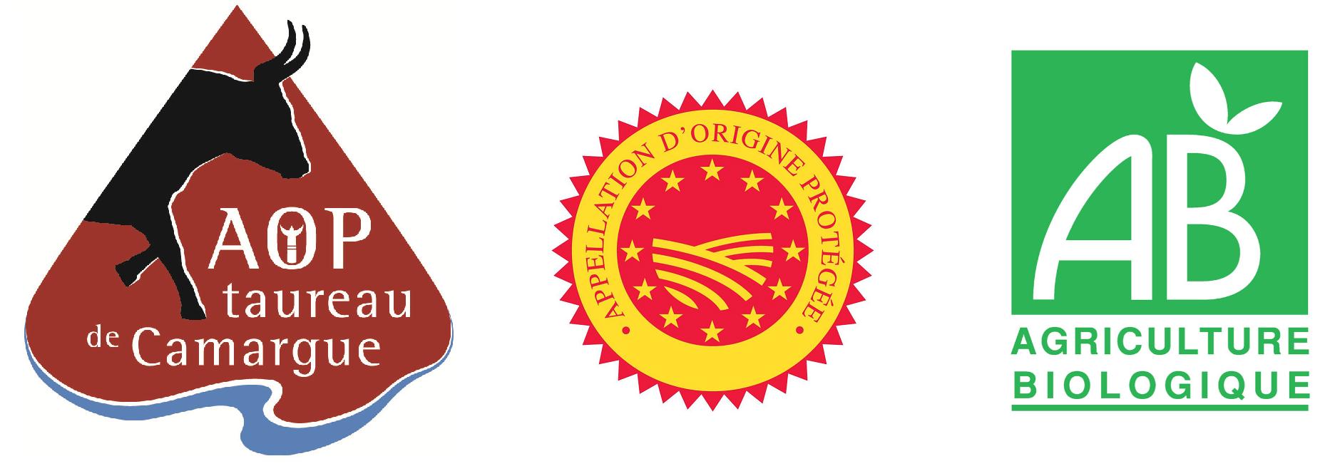 label viande taureau AOP bio manade producteur eleveur